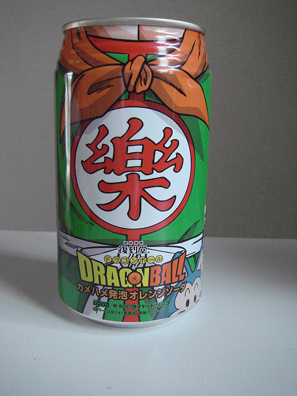 Dragon Ball Soda