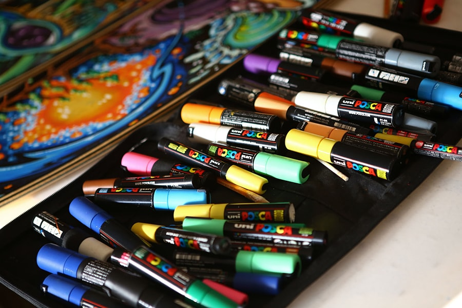 the ultimate guide to posca paint markers kusuyama